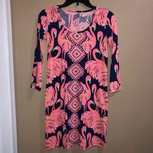 Lily Pulitzer long sleeve t shirt dress size XXS